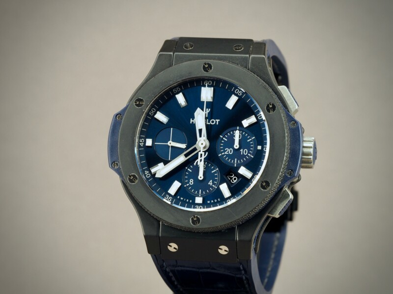Hublot Big Bang Chronograph Blue Ceramic, 12/2018