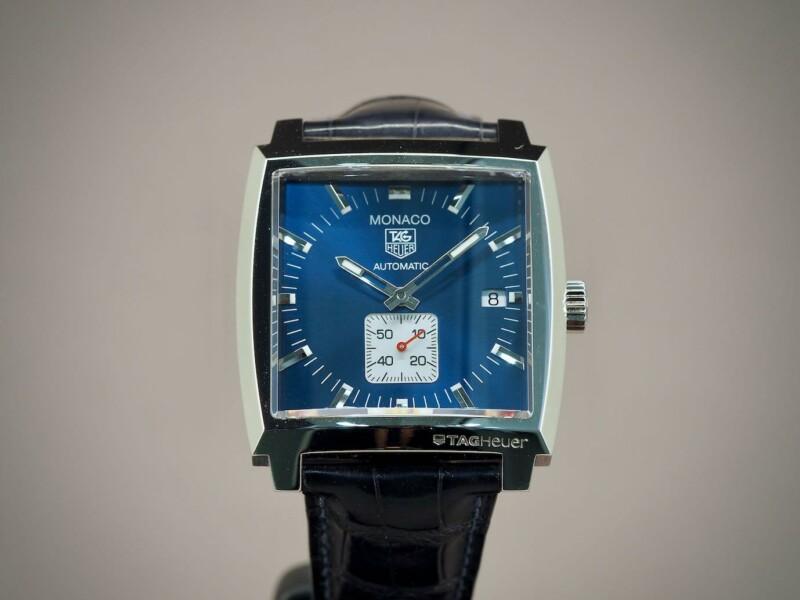 TAG Heuer Monaco Calibre 6 Sininen