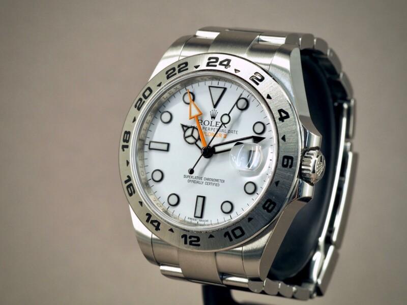 Rolex 216570 Explorer II Polar