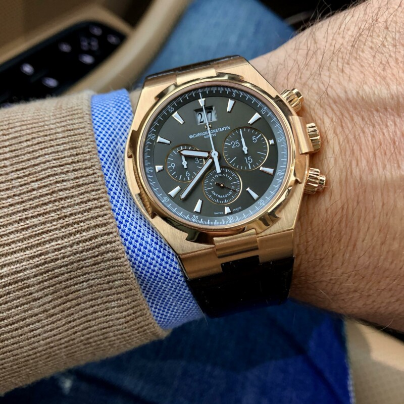 Vacheron Constantin Overseas 49150 Rose Gold