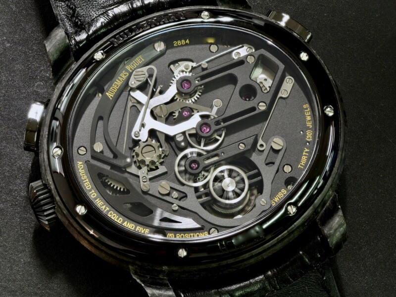 Audemars Piguet Millenary Carbon One Tourbillon Chronograph