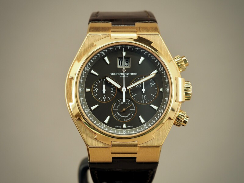 Vacheron Constantin Overseas Chronograph 49150 Rose Gold