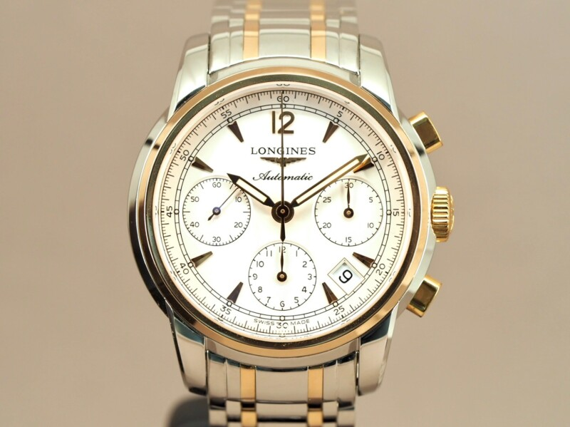 Longines Saint Imier Chronograph Steel and Gold, 2/2017